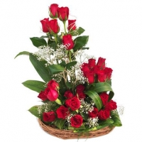 36 Rose Basket