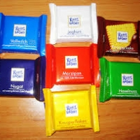 RitterSport Chocolates - 7 Nos