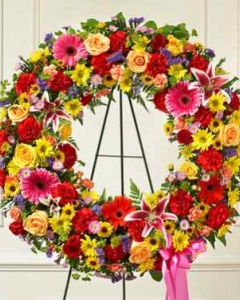 Beautiful Blooms Wreath
