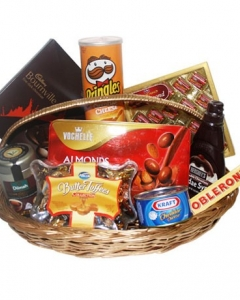 Gourmet chocolate Basket